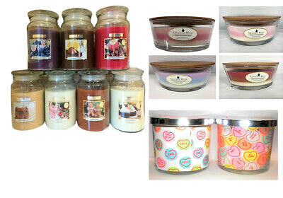 £8.99 • Buy Wickford & Co Large Scented Jar Candles 18oz. Scents Gift Room Yankee