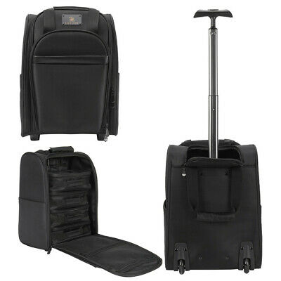 Portable Rolling Makeup Trolley Case Artist Multifunctional Carry-on Bags Wheele • 65.97£