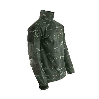 Kombat Spec-Ops UBACS Under Shirt BTP-Black ID Panel Airsoft Night Camo • 25.99£