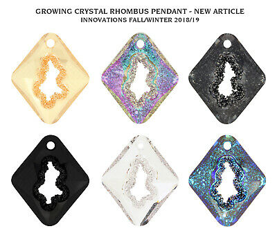 Genuine SWAROVSKI 6926 Growing Crystal Rhombus Pendants * Designer Edition • 20.81£