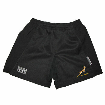 EGGCATCHER South Africa Performance Training Rugby Shorts [black] • 14.95£