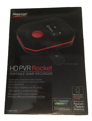 Hauppauge HD-PVR Rocket Portable Game Recorder Xbox One / Xbox 360 / PS4 /PS3 PC • 67£