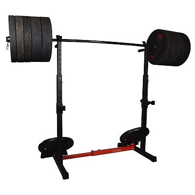 $ CDN262.98 • Buy Exersci Heavy Duty Squat Rack With Dips And Storage Arms - Version 2