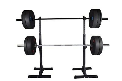 $ CDN154.38 • Buy Exersci Heavy Duty Squat Rack With Weight Bench Support