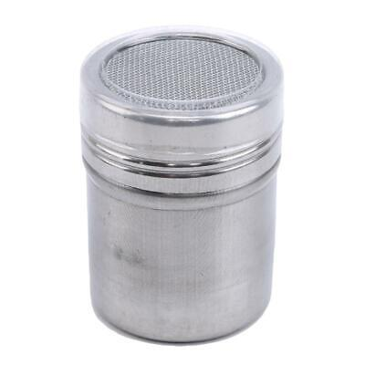Stainless Steel Powder Icing Sugar Cocoa Chocolate Flour Duster Sugar Shaker UK