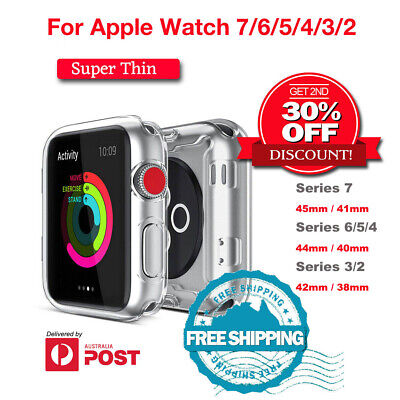 AU5.95 • Buy For Apple Watch Screen Protector For Series 6/5/4/3/2 SE IWatch 44/40/42/38mm