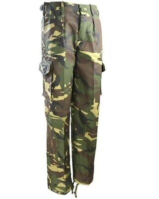 Air Cadets Woodland DPM Lightweight Trousers & Belt Combat Cadet Camouflage • 10.99£