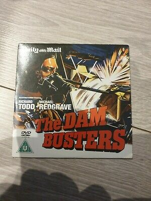 The Dam Busters Daily Mail Collectors Promo Dvd Classic War Film / Richard Todd • 2.99£