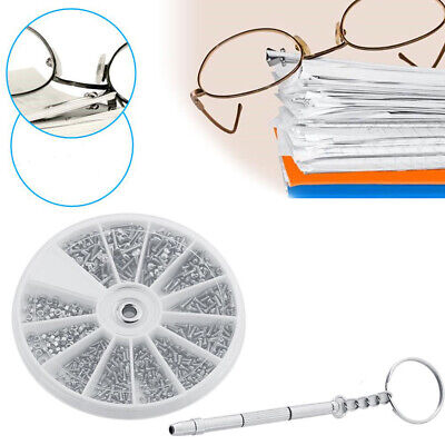 Creative Nose Pad Repair Kits 100pcs Precise Spectacles Spare Part Watch Repair • 3.79£