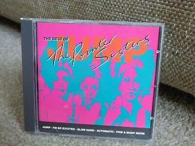 The Pointer Sisters - Jump : The Best Of (original 1989 'greatest Hits' Cd) • 1.30£