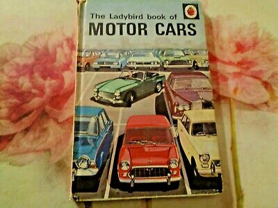 EARLY 1970s MATT 'THE LADYBIRD BOOK OF MOTOR CARS' Recognition Series 584 *VGC* • 7.99£