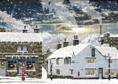 £9.99 • Buy Bingley White Horse Inn  Christmas Cards (Pack Of 4 )