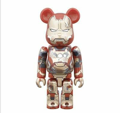 $173.33 • Buy Medicom Bearbrick Bearbrick Be Rbrick Iron Man 3
