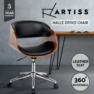 AU99.95 • Buy Artiss Office Chair Gaming Executive Wooden  Computer Home Chairs Seating Black