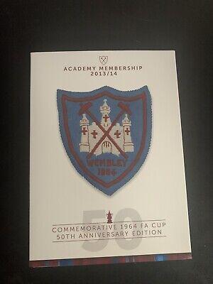 £6.99 • Buy West Ham United 1964 FA Cup Final DVD With Program & Badge