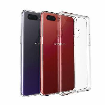 AU10.43 • Buy For OPPO R17 R15 Shockproof Tempered Glass Shell Hybrid Phone PU Case