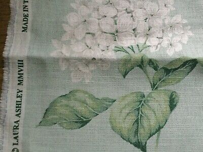 New Laura Ashley Heligan Eau De Nil (Green) Fabric 1.7 Metres • 85£