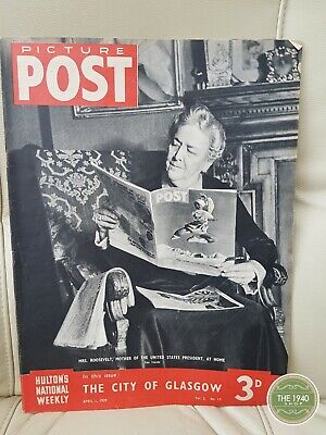 Picture Post Magazine, April 1st 1939 • 5.99£