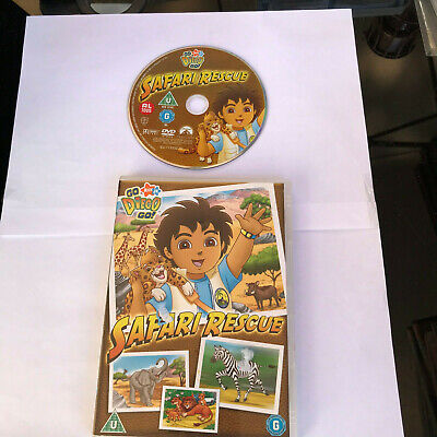 Go Diego Go SAFARI Rescue DVD • 3.10£
