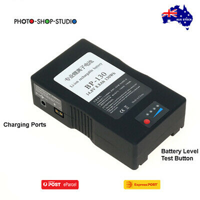 AU195 • Buy AU*Fotolux BP-130 14.8V 130Wh 8800mAh V-Mount Battery