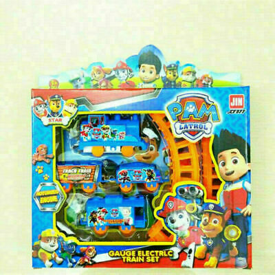 Paw Patrol Dog Doll Figures Electric Train Track Set Kids Baby Boy Girl Toy Gift • 6.99£