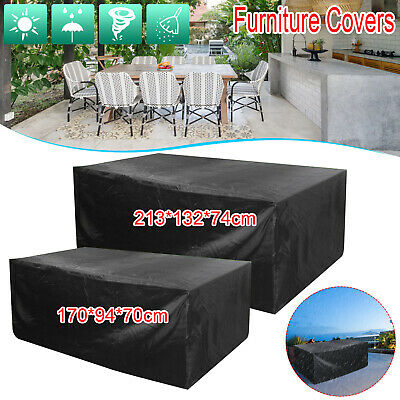 £8.99 • Buy Heavy Duty Garden Patio Furniture Table Cover For Rattan Table Cube Set Outdoor
