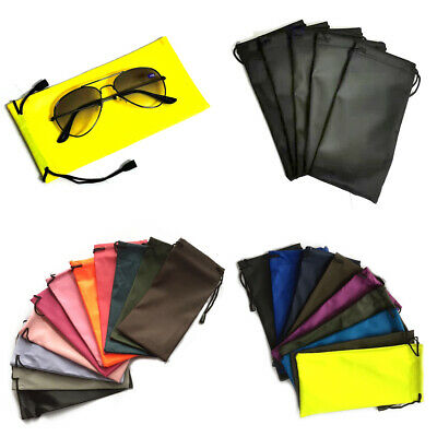 2X Or 5X Glasses Sunglasses Pouch Phones Spectacles Wallet Drawstring Soft Case  • 0.99£
