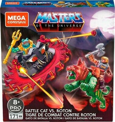 $21.99 • Buy Mega Construx Masters Of The Universe Battle Cat Vs. Roton Set
