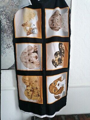 Quilting Panel Of Puppies Dogs Fabric Crafts 23x41 Inchs  Approx New  • 5£