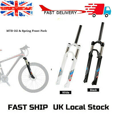 £32.99 • Buy 26inch Ultra-light Mountain Bike Oil/Spring Front Fork Bicycle Cycling Fork K5F9