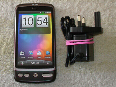 HTC Desire A8181 Brown WiFi Camera Phone + Mem Card Good Condition On EE • 19.95£