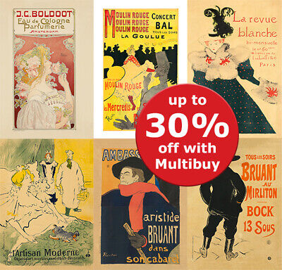VINTAGE FRENCH ART ADVERTISING Posters Print Wall Art A4 A5 Retro • 2.99£