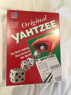 Mb Games : Original Yahtzee Dice Game - Brand New And Sealed • 24.95£