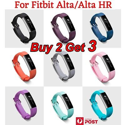 AU3.99 • Buy For Fitbit Alta Band Alta HR Replacement Band Strap Wristband Buckle Bracelet