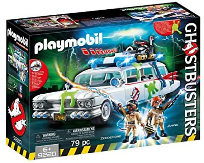 Playmobil Ghostbusters 9220 Ecto-1 With Light And Sound Effects For Children 6+ • 54.01£