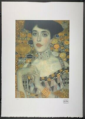 $ CDN223.51 • Buy GUSTAV KLIMT * 50 X 70 Cm * Signed Lithograph * Limited # 110/200