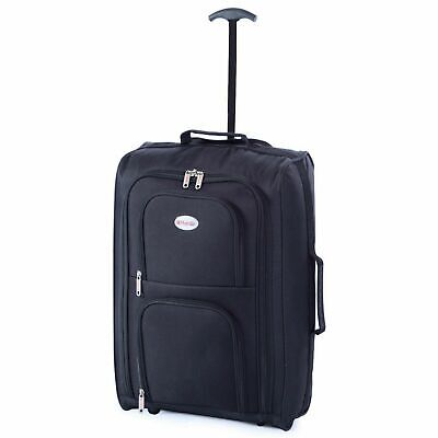 £9.99 • Buy Ryanair Easyjet Carry-on Cabin Approved Hand Luggage Trolley Suitcase Case Bag