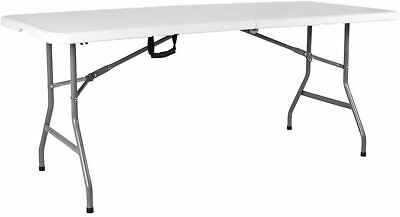 6ft Heavy Duty Folding Catering Trestle Camping BBQ Party Garden Portable Table  • 36.99£