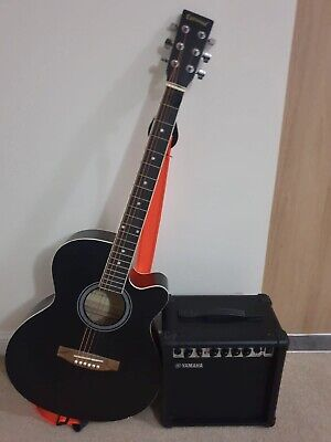 Eastwood Acoustic Electric Guitar And Yamaha Amp • 70£