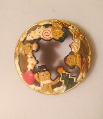 Yankee Candle Christmas Gingerbread Illuma Lid, Very Rare & Retired • 6.50£
