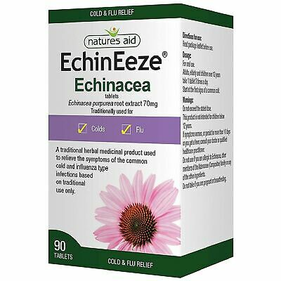 Natures Aid EchinEeze Echinacea Root Extract 70mg - 90 Tablets • 8.99£