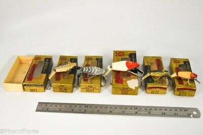$ CDN41.81 • Buy Vintage Lot Of L&S Antique Fishing Lures In Boxes LC68