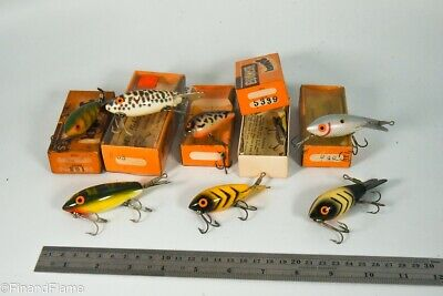 $ CDN28.09 • Buy Vintage Lot Of Bomber Antique Fishing Lures In Boxes LC67