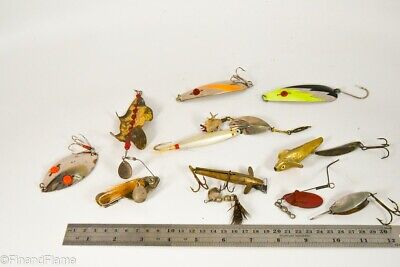 $ CDN1.63 • Buy Vintage Lot Of Metal Antique Fishing Lures Etc LC63