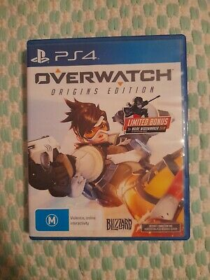 AU16.99 • Buy Overwatch Origins Edition PS4, Playstation 4 Game