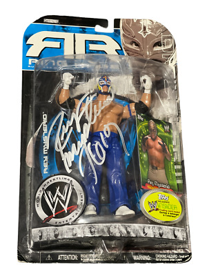 AU66.78 • Buy Wwe Rey Mysterio Ruthless 20.5 Hand Signed Autographed Action Figure With Coa