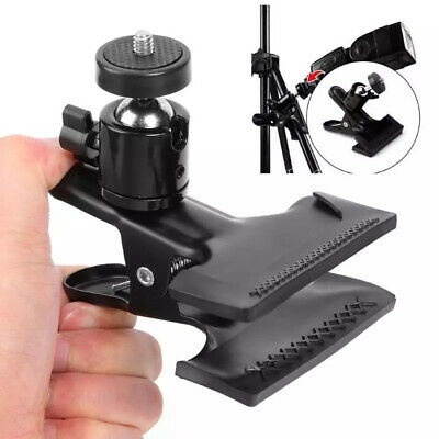 Camera Clamp Holder Mount With Universal Metal 1/4 Screw Bracket-for Photography • 6.59£