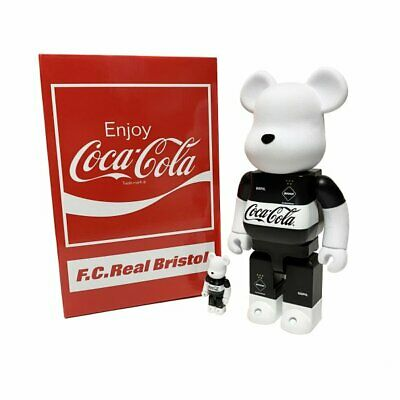 $405 • Buy Bearbrick Medicom BE@RBRICK F.C.Real Bristol COCA-COLA 100 400  F.C.R.B Limited