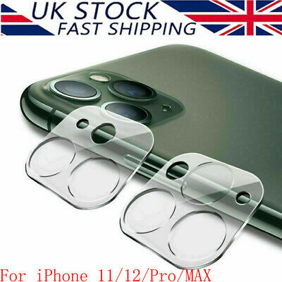 9H Tempered Glass Camera Lens Protector Cover HD Film For IPhone 12/11 Pro MAX • 3.69£