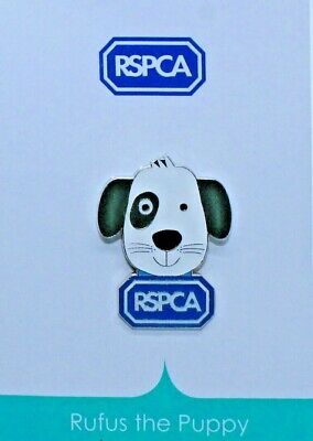 RSPCA Enamel Pin Badge. Rufus The Puppy. Dog Brand New. *Charity Listing* • 1.50£